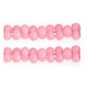 Bow Beads (Farfalle) 3.2x6.5mm Red Alabaster Solgel